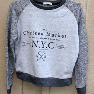 MNG Chelsea Market sweatshirt size Small